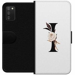 Samsung Galaxy A02s Wallet Case Bokstäver
