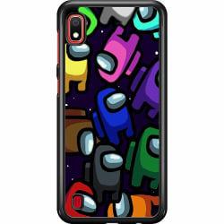 Samsung Galaxy A10 Hard Case (Svart) Among Us