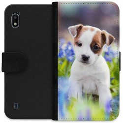 Samsung Galaxy A10 Wallet Case Hello Doggo