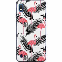 Samsung Galaxy A10 Thin Case Flamingo