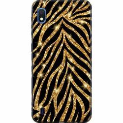 Samsung Galaxy A10 Thin Case Gold & Glitter