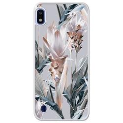 Samsung Galaxy A10 Soft Case (Frostad) Blommor