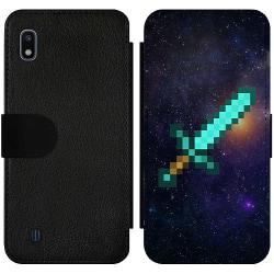 Samsung Galaxy A10 Wallet Slim Case Minecraft