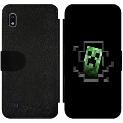 Samsung Galaxy A10 Wallet Slim Case Minecraft