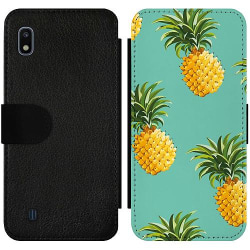 Samsung Galaxy A10 Wallet Slim Case Ananas
