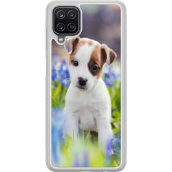Samsung Galaxy A12 Soft Case (Frostad) Hund