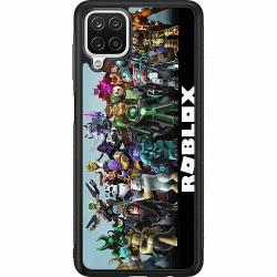 Samsung Galaxy A12 Soft Case (Svart) Roblox