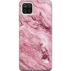 Samsung Galaxy A12 Thin Case Glitter Marble