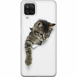 Samsung Galaxy A12 Mjukt skal - Katt