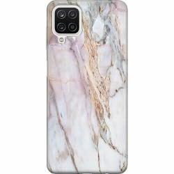 Samsung Galaxy A12 Mjukt skal - Marmor
