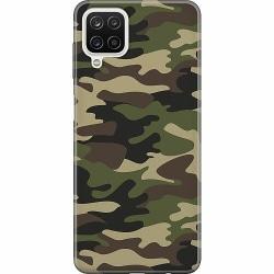 Samsung Galaxy A12 Mjukt skal - Militär