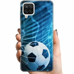 Samsung Galaxy A12 TPU Mobilskal Fotboll