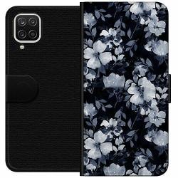 Samsung Galaxy A12 Wallet Case Blommor