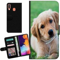 Samsung Galaxy A20e Billigt Fodral Hund