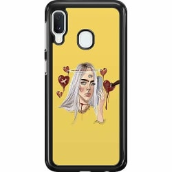 Samsung Galaxy A20e Hard Case (Svart) Billie Eilish