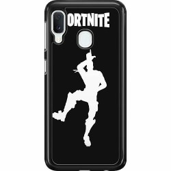 Samsung Galaxy A20e Hard Case (Svart) Fortnite Chapter 2