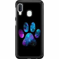 Samsung Galaxy A20e Hard Case (Svart) Galaxy Paw