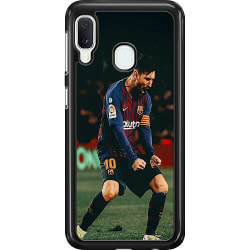 Samsung Galaxy A20e Hard Case (Svart) Messi