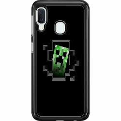 Samsung Galaxy A20e Hard Case (Svart) Minecraft