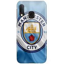 Samsung Galaxy A20e LUX Mobilskal (Glansig) Manchester City