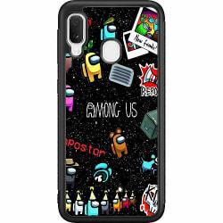 Samsung Galaxy A20e Soft Case (Svart) Among Us