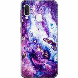 Samsung Galaxy A20e Thin Case Lila