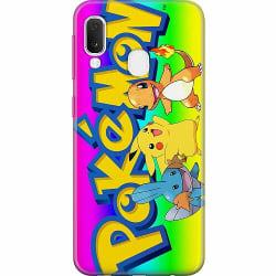 Samsung Galaxy A20e Thin Case Pokemon