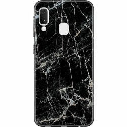 Samsung Galaxy A20e Thin Case Marmor Svart