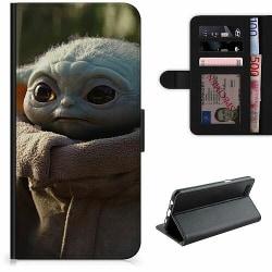 Samsung Galaxy A20s Lyxigt Fodral Baby Yoda