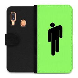 Samsung Galaxy A40 Wallet Case Billie Eilish