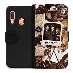 Samsung Galaxy A40 Wallet Case Harry Potter