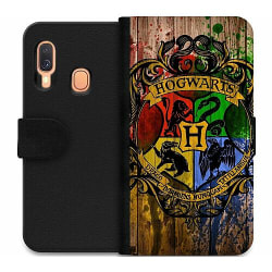Samsung Galaxy A20e Wallet Case Harry Potter