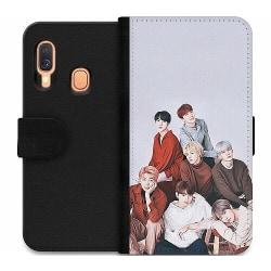 Samsung Galaxy A40 Wallet Case K-POP BTS