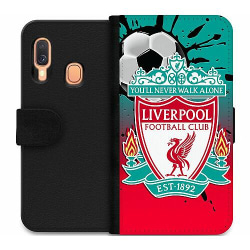 Samsung Galaxy A40 Wallet Case Liverpool