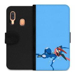 Samsung Galaxy A40 Wallet Case Pokémon - Greninja