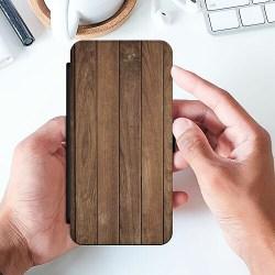Huawei P20 Lite Wallet Slim Case Timber