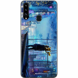 Samsung Galaxy A20s Thin Case Detective Pikachu