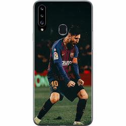 Samsung Galaxy A20s Thin Case Messi