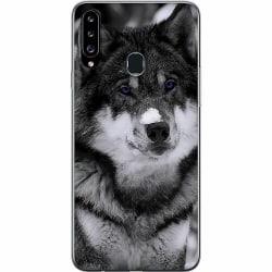 Samsung Galaxy A20s Thin Case Wolf