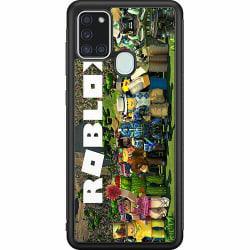 Samsung Galaxy A21s Soft Case (Svart) Roblox