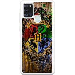 Samsung Galaxy A21s Soft Case (Vit) Harry Potter