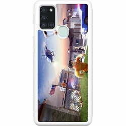 Samsung Galaxy A21s Soft Case (Vit) Roblox