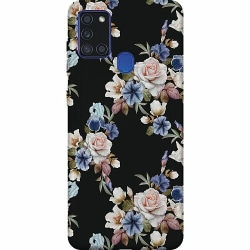 Samsung Galaxy A21s Thin Case Blommor