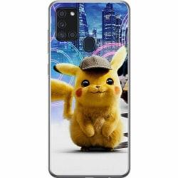 Samsung Galaxy A21s Thin Case Detective Pikachu - Pikachu