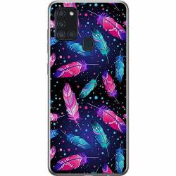 Samsung Galaxy A21s Thin Case Fjädrar