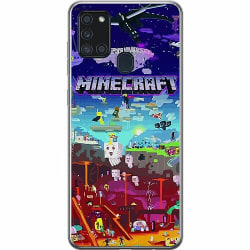 Samsung Galaxy A21s Thin Case MineCraft