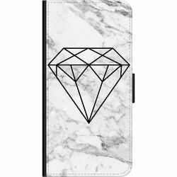 Huawei P40 Lite Wallet Case Marmor Diamant