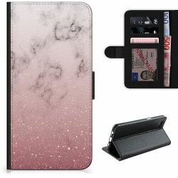 Samsung Galaxy A32 5G Lyxigt Fodral Soft Pink Marble