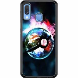 Samsung Galaxy A40 Hard Case (Svart) Pokemon
