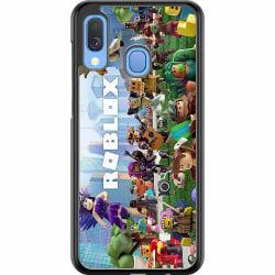 Samsung Galaxy A40 Hard Case (Svart) Roblox